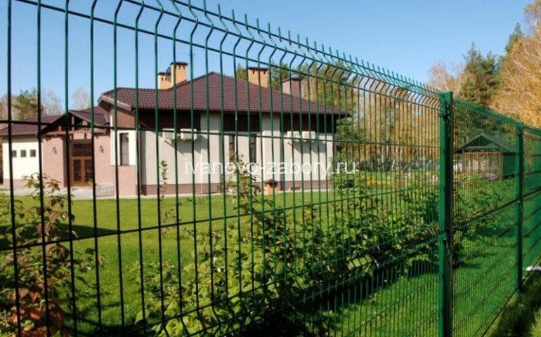 3д забор в Иваново