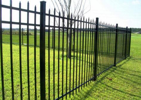 забор из профильной трубы в Иваново