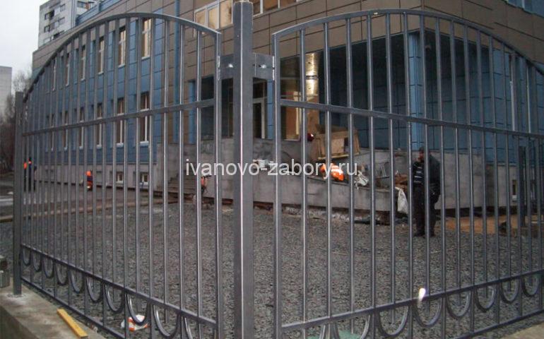 забор из профтрубы в Иваново