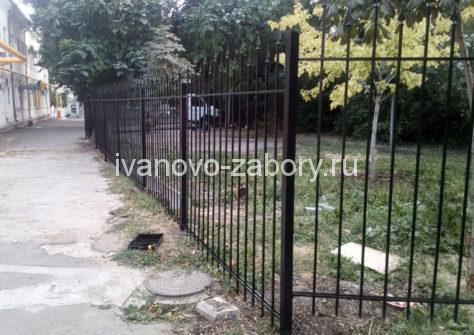 изготовление забора из профильной трубы в Иваново